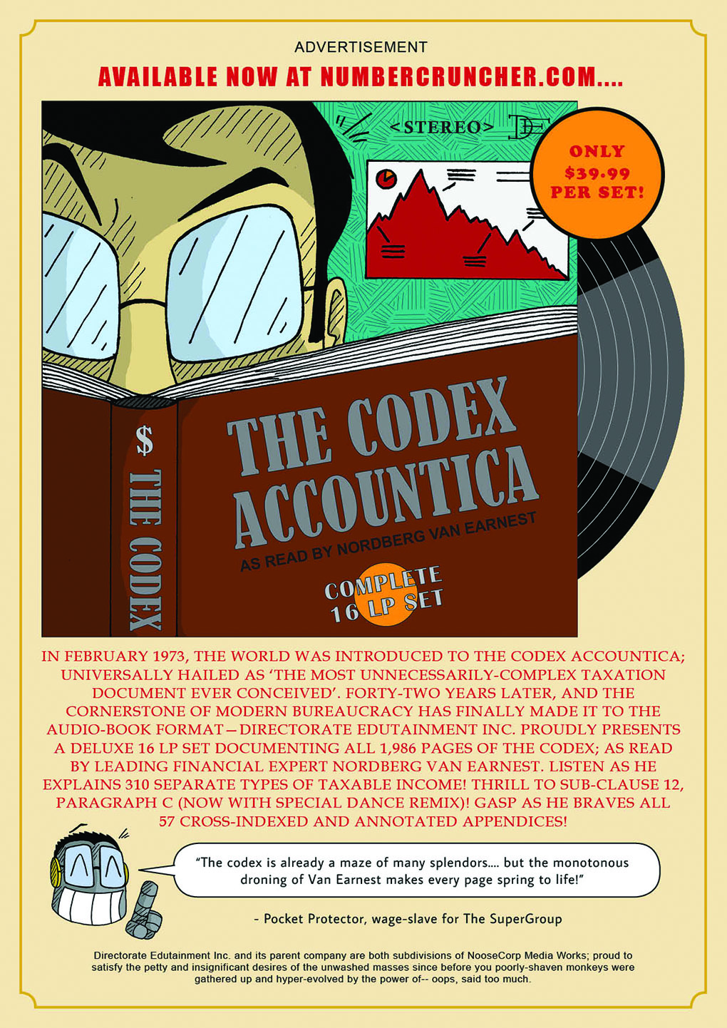 The Codex Accountica....