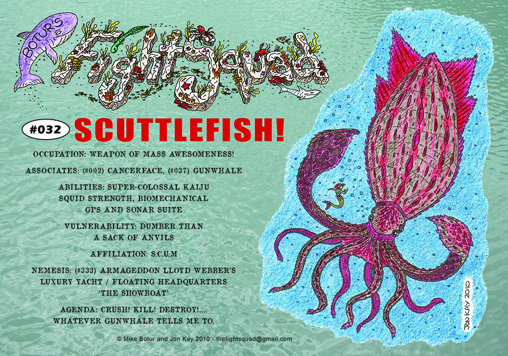 Character profile: Scuttlefish