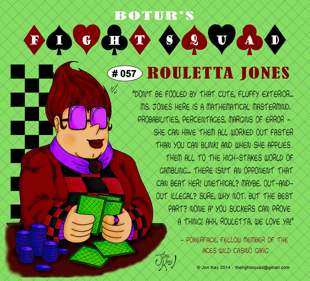 Character profile: Rouletta Jones
