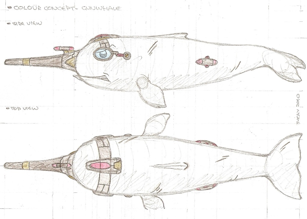 Concept art: Gunwhale and Scuttlefish 3